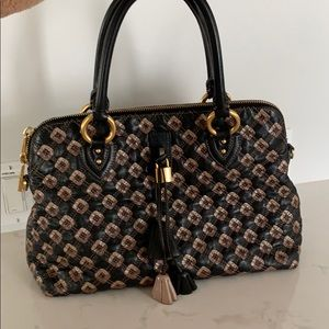 Lux Marc Jacobs Collection Leather Quilted Satchel